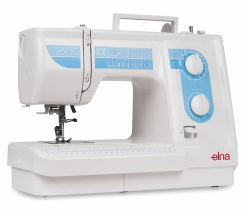 Elna 2600  Sewing Machine Showroom Model