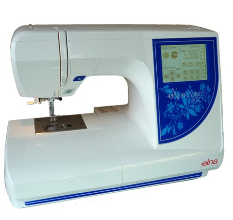 Elna eXpressive 820 (820EX) - EMBROIDERY MACHINE - SPECIAL MARCH OFFER