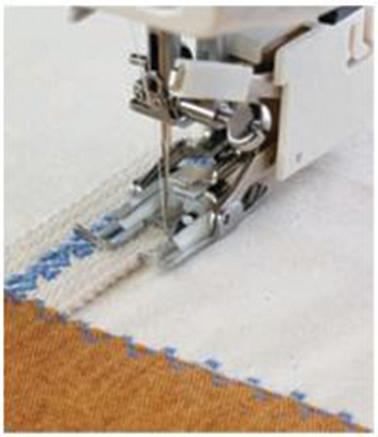 Janome Even Feed Foot - Standard Open Toe (With Quilting Guide) - Category B 200339007