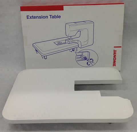 Janome White Extension Table - XPression/FM725 (60mm x 40cm) 725813002