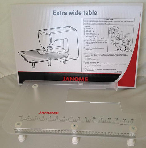 Janome Extension Table - Extra Wide (MC9900/Atelier Series ONLY) 861401215