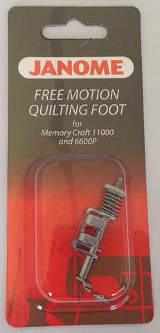 Janome Free Motion Quilting Foot - Exclusive for MC11000/MC11000SE MC7700QCP/MC6600P 200442004