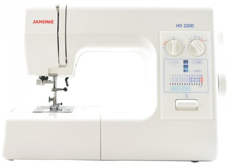 Janome HD2200 Sewing Machine Heavy Domestic * Metal Bodied Strong Machine * Save £30 - November Delivery