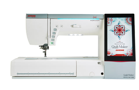 Janome Horizon Memory Craft 15000 V3 Quilt Maker Sewing Machine