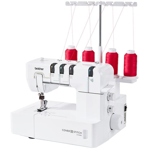 Brother CV3440 Coverstitch Machine - 4 Thread Coverstitch *New*