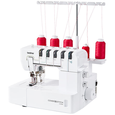 Brother CV3550 Coverstitch Machine - 5 Thread Double Sided Coverstitch *New*