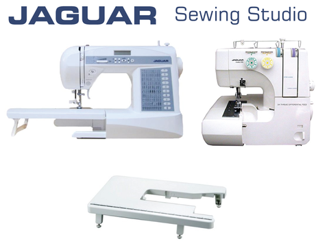 Jaguar Sewing Studio Package - Sewing Machine & Overlocker
