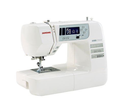 Janome 230DC - New model launched 2017 - FREE Extension Table & Hard Cover - save £50 on this Sewing with Style offer