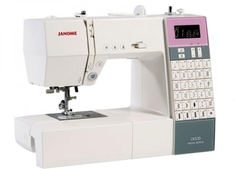 Janome DKS30 - Valentines Offer (save £50 + FREE JQ6 Quilting kit worth £119)