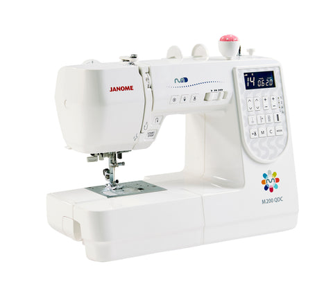 Janome M200 QDC - Includes Bonus pack and Extension table