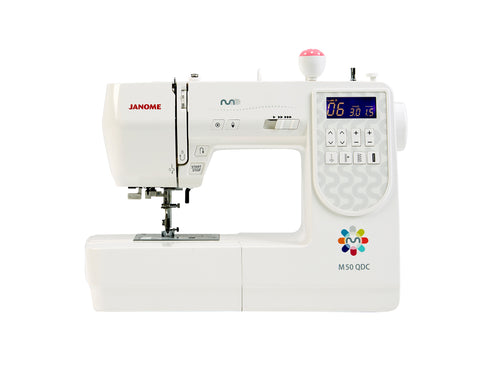 Janome M50 QDC - Includes Bonus pack and Extension table + FREE METTLER THREAD SET
