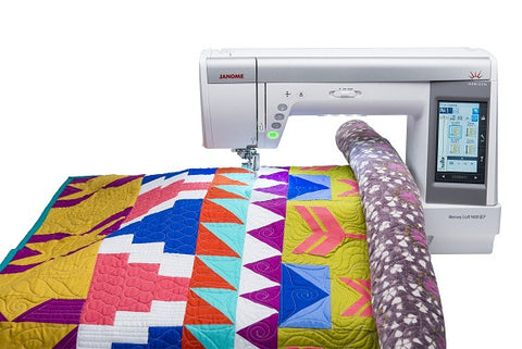 Janome Memory Craft 9400 QCP (Horizon) - SAVE £500 + FREE UPGRADE KIT WORTH £99