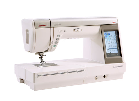 Janome Memory Craft 9450 QCP (Horizon Professional Series) + FREE Thread Stand and Maderia Thread set worth over £160! Offer valid 11.02.19 to 31.03.19 Subject to stock