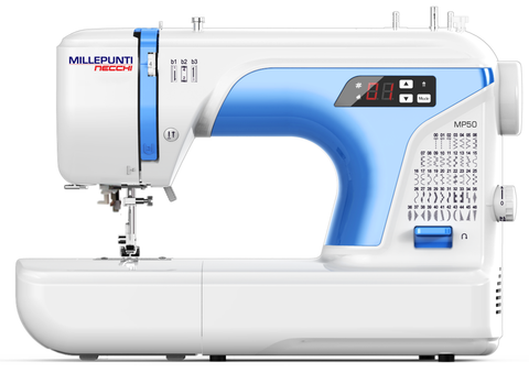 Necchi MP50 - 50 stitch patterns, Italian designed digital machine