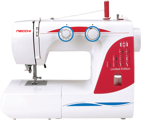 NECCHI SUPER BUNDLE - Millepunti by Necchi 22 Sewing Machine and 857 5 thread Overlocker + Coverstitch machine (2 machine bundle)