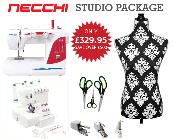 Necchi Studio Package Offer - Save over £500  -