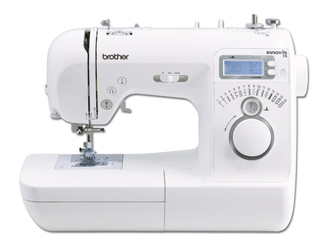 Brother Innov-Is 15 Sewing Machine - Use With Or Without Foot Control * Best Value Computerised Machine - Easy To Use * October Offer With Free Blue Bag (Hsmbluebagz2)