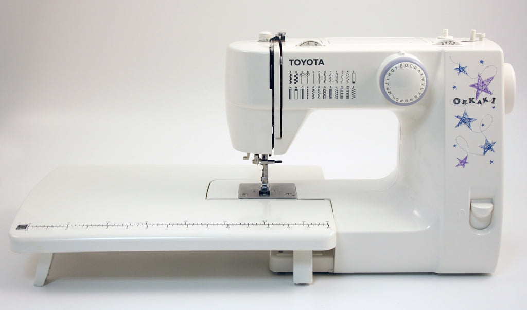 Toyota Oekaki 40RS Sewing Machine Includes Extension Table Inc Beauteous Oekaki Sewing Machine Reviews