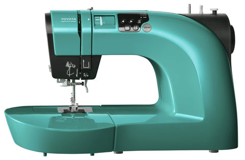 Toyota Oekaki Blue - Quilt Edition (Includes Extension Table and Quilting Foot Set)