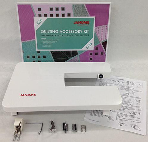 Janome Quilting Accessory Kit - DKS JQ6