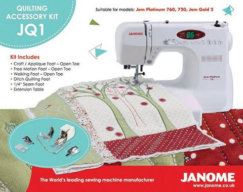 Janome Quilting Accessory Kit - Jem JQ1