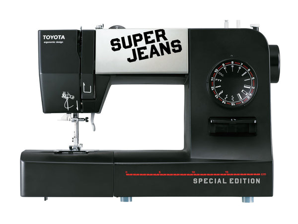 Toyota Super Jeans 15PE Special Edition + FREE Extension table worth £39