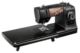 Toyota * Power Range * Super Jeans 34 Deluxe Bundle with Extension Table - FREE Glide foot - Sews silk to leather