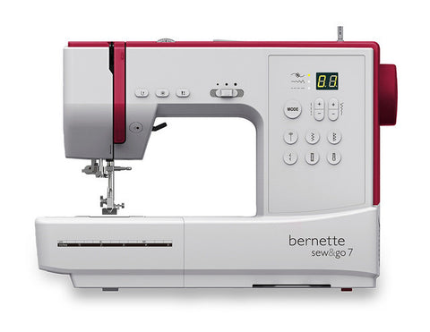 Bernina Bernette Sew & Go 7 (Sew with or without pedal) + FREE EXTENSION TABLE