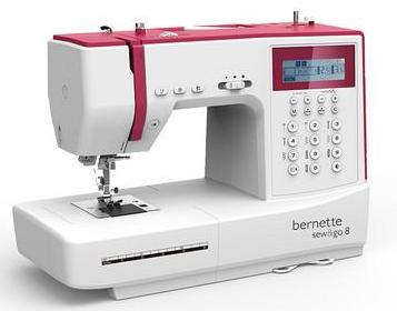 Bernina Bernette Sew & Go 8 - 200 stitch with alphabet and numbers + FREE EXTENSION TABLE WORTH £59