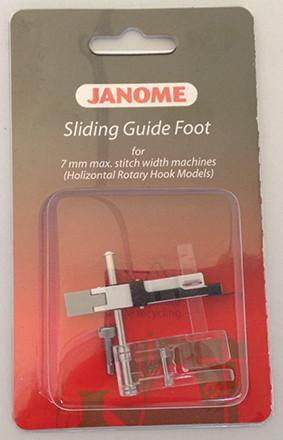 Janome Sliding Guide Foot - Category B/C 202218005