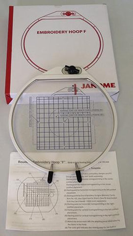Janome Spring Loaded Hoop F 850411007