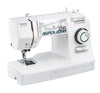 Toyota * Power Range * Super Jeans 26 Sewing Machine (White) - Free Glide Foot, Sews Silk To Leather