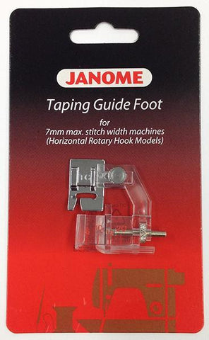 Janome Taping Guide Foot - Category B/C 202311009