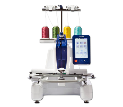 Brother VR 4 Embroidery + Free Motion Quilting Machine