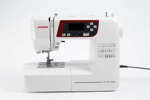 Janome XL601 - Sewing with Style offer ENDING SOON - save £70 + FREE JQ2 Quilting kit with Extension table worth £119