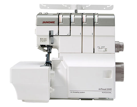 Janome AirThread 2000D Overlocker * new model * One-push to thread upper and lower loopers by air