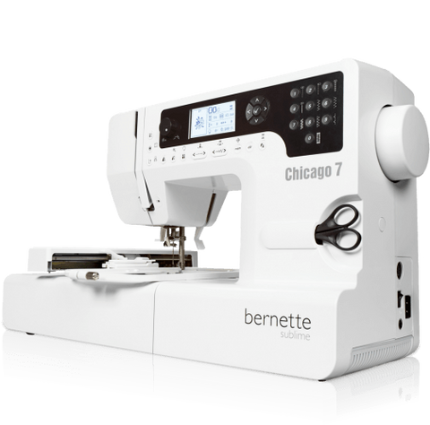 Bernette by Bernina Chicago 7 Sewing & Embroidery Machine - September delivery
