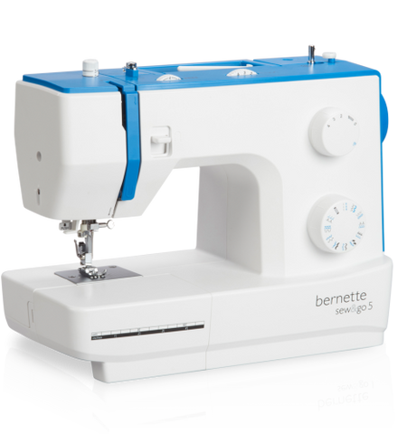 Bernette by Bernina - Sew & Go 5 - 3 dial machine with auto needle threader