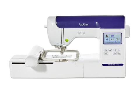 Brother Innov-Is F440E Embroidery Machine - March Offer now on - FREE PE Design Plus 2 sofware worth £349