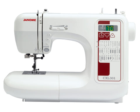 Janome CXL301 Sewing Machine - November delivery (recommend new model 230DC)