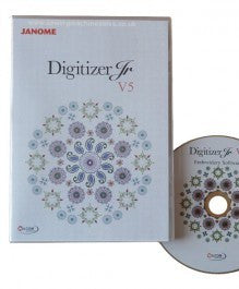 Janome Digitizer JR V5 Embroidery Software