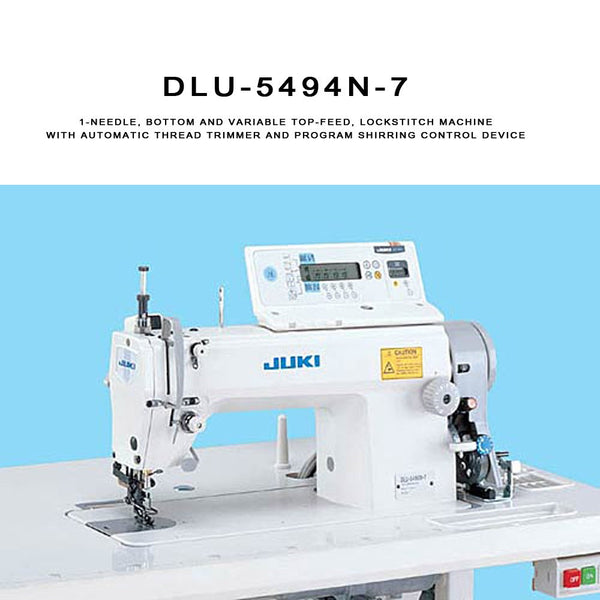 Juki DLU-5494N-7 Lockstitch Machine