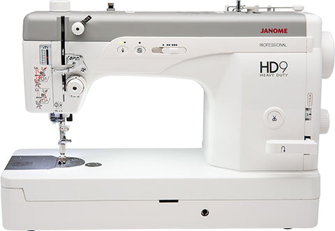 Janome HD9 * New model * replacing 1600P QC - High Speed Straight Stitch Professional Machine - Preorder for delivery April 2019
