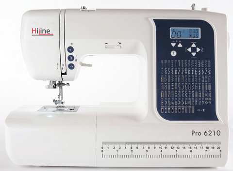 HiLine Pro 6210 (100 stitch patterns + sew with or without pedal) * BLACK FRIDAY OFFER *