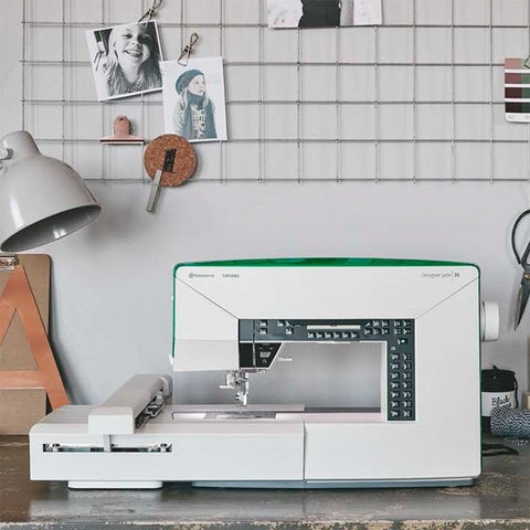 Viking Husqvarna Designer Jade 35 Sewing and Embroidery Machine