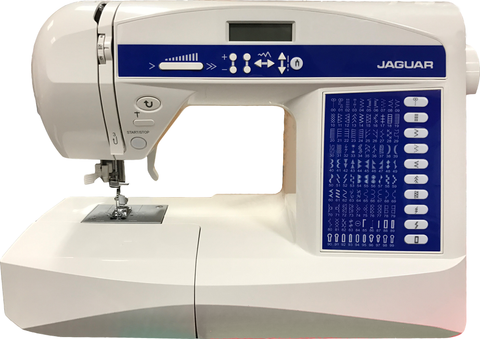 Jaguar 596 - * QUALITY JAPANESE BRAND * Quilters Bundle inc. Walking Foot, Extension table and Hard Cover worth £80