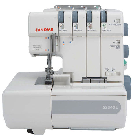Janome 6234XL * STRONG POPULAR OVERLOCKER *