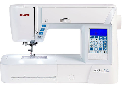 Janome Atelier 3 Sewing Machine * Ideal For Quilting + Alphabet And Number Sewing