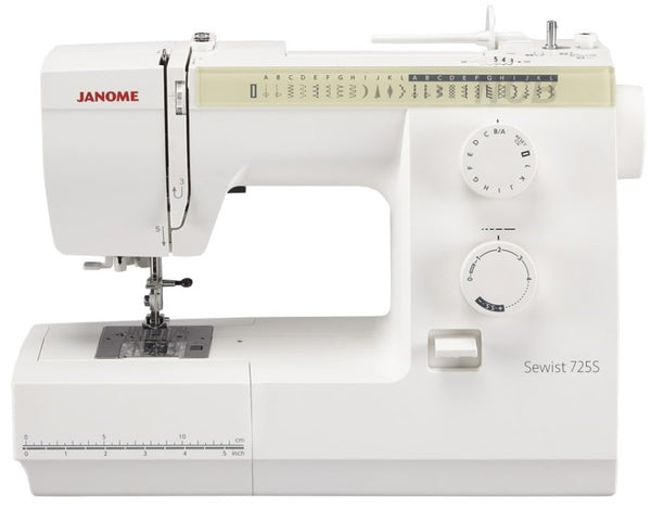 Janome Sewist 725S * Brand new model replacing Which? Best Buy 525S *now with LED lighting