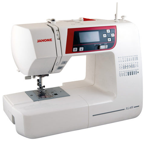 Janome XL601 - Valentines Offer - save £50 + FREE JQ2 Quilting Kit worth £119